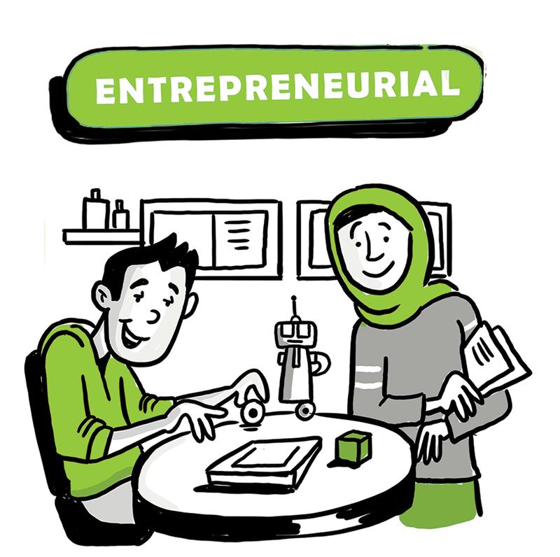 entrepreneurial
