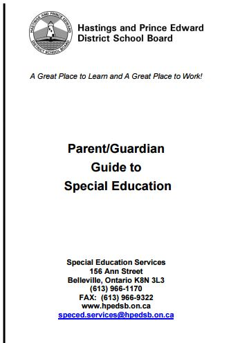 HPEDSB Spec Ed Guide